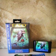 Videojuegos y Consolas: ECCO THE TIDES OF TIME MEGA DRIVE COMPLETO. Lote 218880025