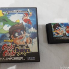 Videojuegos y Consolas: CHIKY CHIKY BOY SEGA MEGADRIVE PAL ESPAÑA ORIGINAL. Lote 218943890