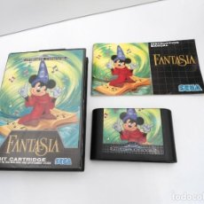 Jeux Vidéo et Consoles: FANTASIA - MEGA DRIVE - SEGA MEGADRIVE - COMPLETO CON INSTRUCCIONES EXCELENTE ESTADO. Lote 219187331
