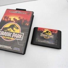 Videojuegos y Consolas: JURASSIC PARK - MEGA DRIVE - SEGA MEGADRIVE - ESTUCHE Y CARTUCHO EN BUEN ESTADO. Lote 219188758