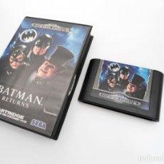 Videojuegos y Consolas: BATMAN RETURNS - MEGA DRIVE - SEGA MEGADRIVE - ESTUCHE Y CARTUCHO EN MUY BUEN ESTADO. Lote 219190012