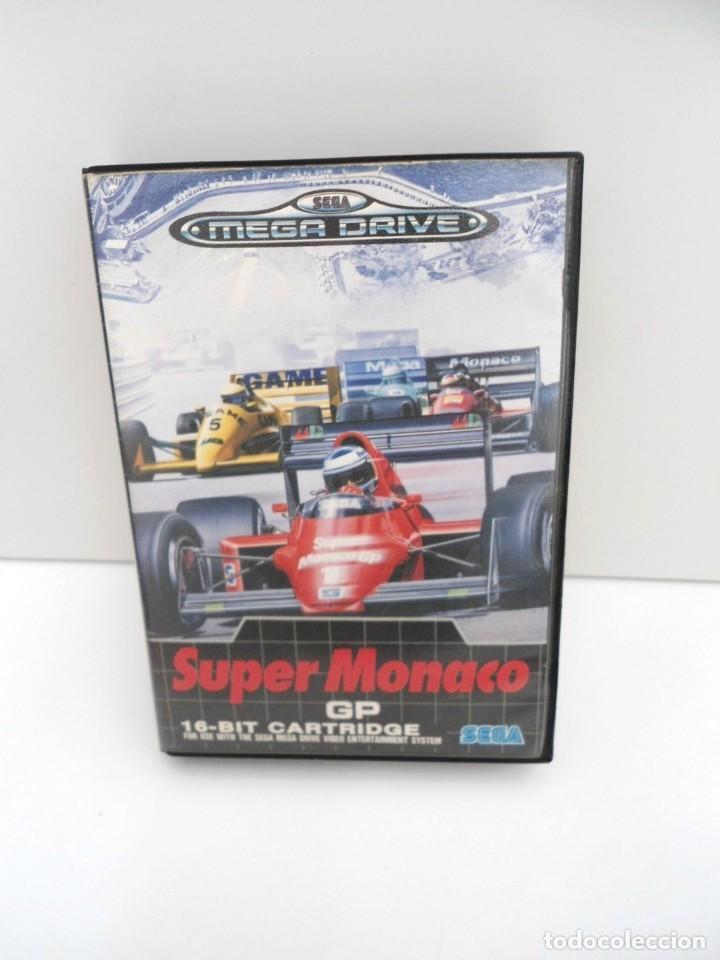 Videojuegos y Consolas: SUPER MONACO - MEGA DRIVE - SEGA MEGADRIVE - COMPLETO CON INSTRUCCIONES BUEN ESTADO - Foto 2 - 262541680