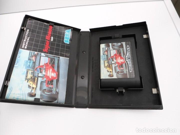 Videojuegos y Consolas: SUPER MONACO - MEGA DRIVE - SEGA MEGADRIVE - COMPLETO CON INSTRUCCIONES BUEN ESTADO - Foto 4 - 262541680