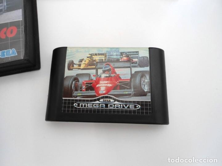 Videojuegos y Consolas: SUPER MONACO - MEGA DRIVE - SEGA MEGADRIVE - COMPLETO CON INSTRUCCIONES BUEN ESTADO - Foto 5 - 262541680