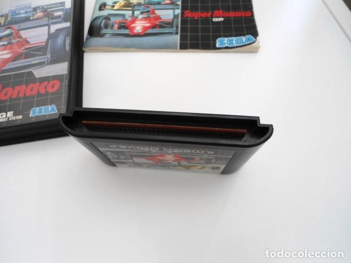 Videojuegos y Consolas: SUPER MONACO - MEGA DRIVE - SEGA MEGADRIVE - COMPLETO CON INSTRUCCIONES BUEN ESTADO - Foto 7 - 262541680