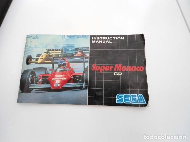 Videojuegos y Consolas: SUPER MONACO - MEGA DRIVE - SEGA MEGADRIVE - COMPLETO CON INSTRUCCIONES BUEN ESTADO - Foto 9 - 262541680