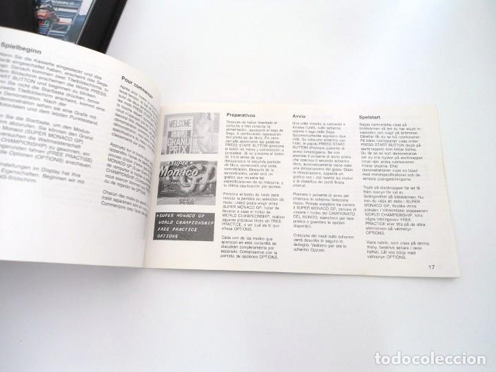 Videojuegos y Consolas: SUPER MONACO - MEGA DRIVE - SEGA MEGADRIVE - COMPLETO CON INSTRUCCIONES BUEN ESTADO - Foto 11 - 262541680