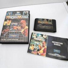 Videojuegos y Consolas: SUPER WRESTLE MANIA WWF - MEGA DRIVE - SEGA MEGADRIVE - COMPLETO CON INSTRUCCIONES BUEN ESTADO. Lote 219192682