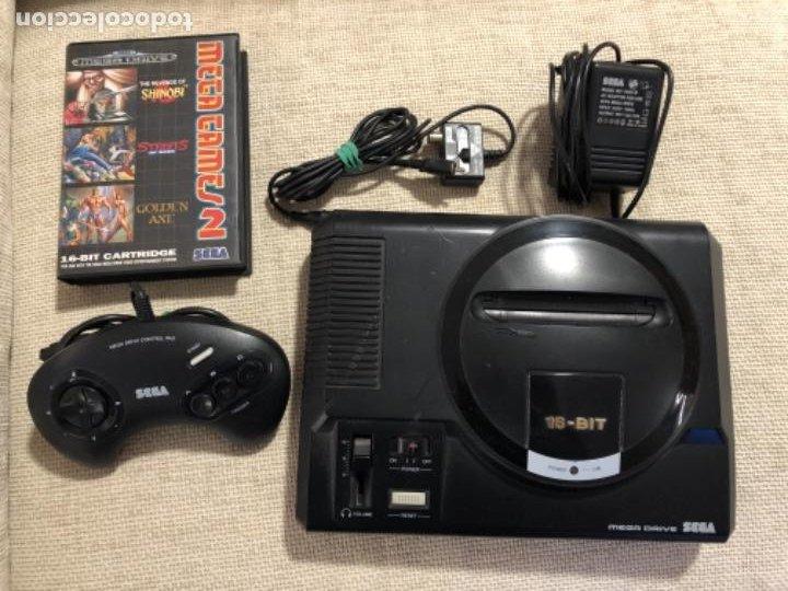 CONSOLA SEGA MEGA DRIVE (Juguetes - Videojuegos y Consolas - Sega - MegaDrive)