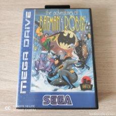 Videojuegos y Consolas: BATMAN Y ROBIN MEGADRIVE. Lote 219280906