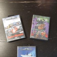 Videojuegos y Consolas: LOTE DE TRES JUEGOS SEGA MEGA DRIVE-SUPER MÓNACO, AFTER BURNER II Y RASTAR SAGA II. Lote 219519250