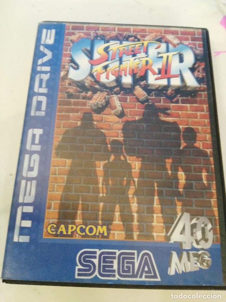 SUPER STREET FIGHTER II COMPLETO SEGA MEGADRIVE MEGA DRIVE PAL (Juguetes - Videojuegos y Consolas - Sega - MegaDrive)