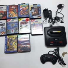 Videojogos e Consolas: LOTE SEGA MEGA DRIVE II 16 BIT CON 10 JUEGOS. Lote 220188890
