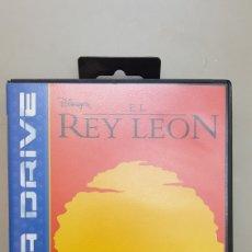 Videojogos e Consolas: REY LEÓN SEGA MEGADRIVE COMPLETO MAS MANUAL. Lote 220571277