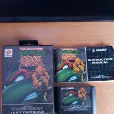 Videogiochi e Consoli: MEGA DRIVE. TORTUGAS NINJA. TOURNAMENT FIGHTERS. COMPLETO.. Lote 220716191