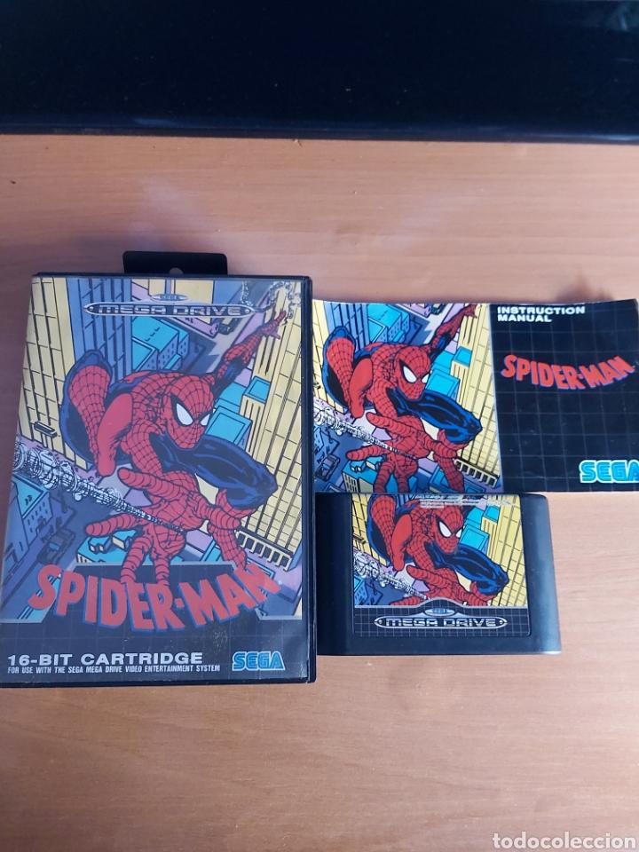 MEGA DRIVE. SPIDER-MAN. COMPLETO. (Juguetes - Videojuegos y Consolas - Sega - MegaDrive)