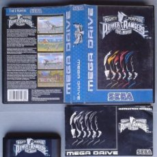 Videojuegos y Consolas: SEGA MEGA DRIVE POWER RANGERS THE MOVIE COMPLETO CON CAJA MANUAL BOXED CIB R11627. Lote 220811992