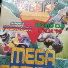 Videojuegos y Consolas: SUPER HANG ON WORLD CUP ITALIA 90 SEGA MEGA. Lote 221161535