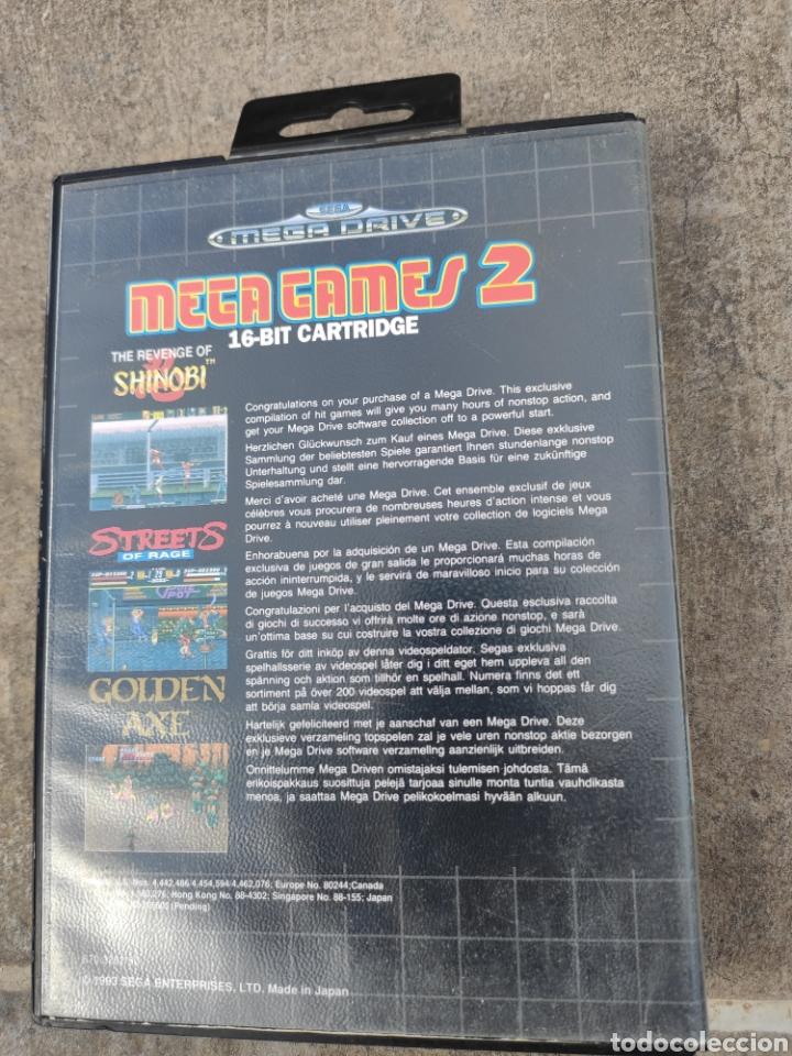 Videojuegos y Consolas: Mega Drive mega games 2. - Foto 2 - 221460670