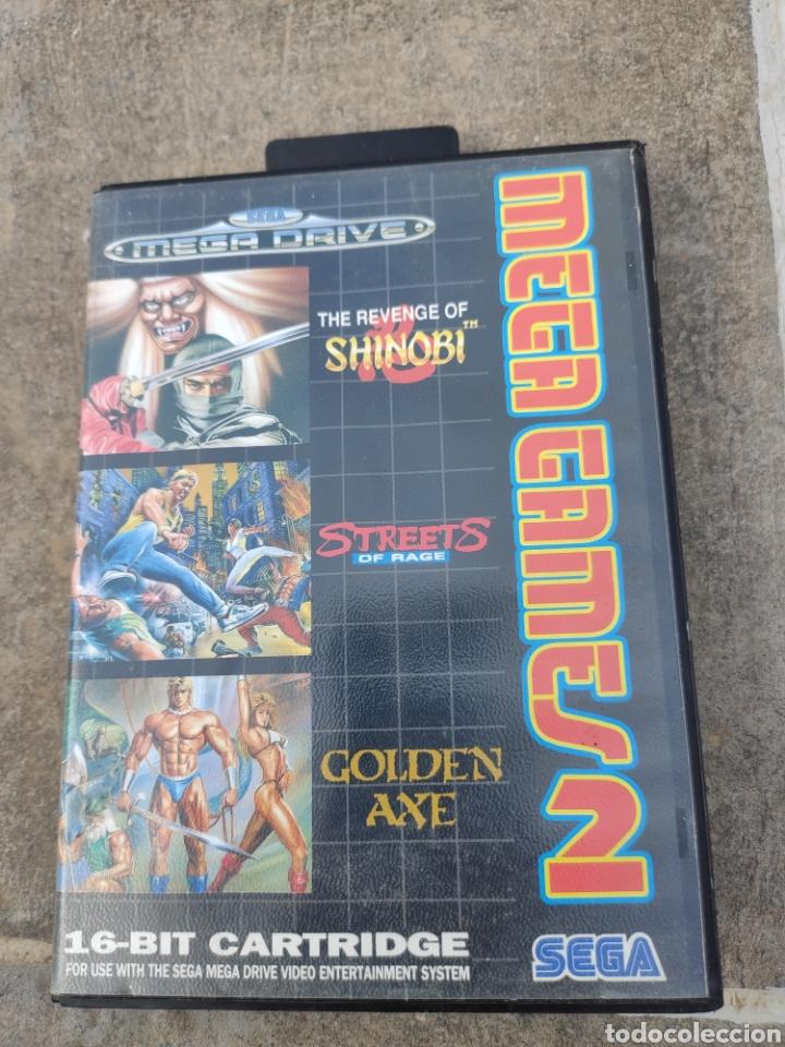 MEGA DRIVE MEGA GAMES 2. (Juguetes - Videojuegos y Consolas - Sega - MegaDrive)