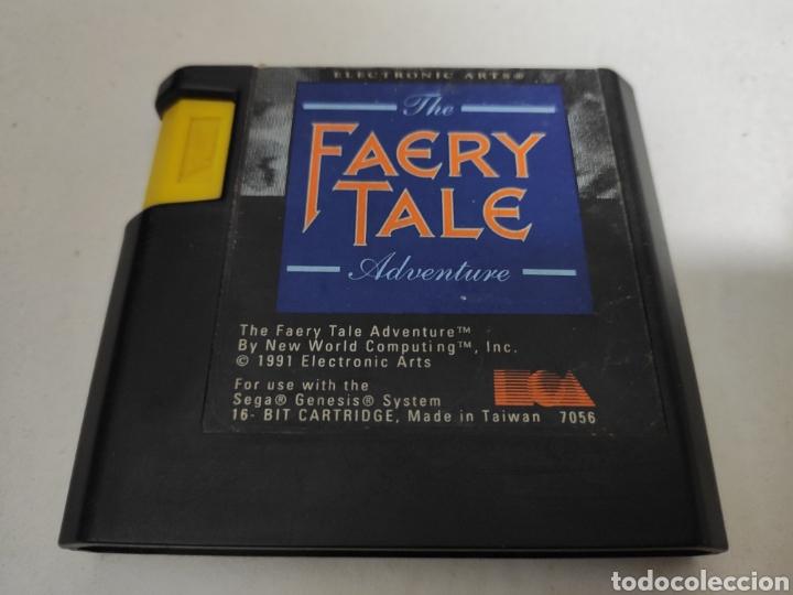 THE FAERY TALE ADVENTURE , SEGA MEGADRIVE (Juguetes - Videojuegos y Consolas - Sega - MegaDrive)