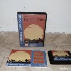 Videojuegos y Consolas: JUEGO EL REY LEON SEGA MEGADRIVE MEGA DRIVE. Lote 221619001