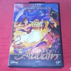 Videojuegos y Consolas: ALADDIN COMPLETO SEGA MEGA DRIVE. Lote 221664472