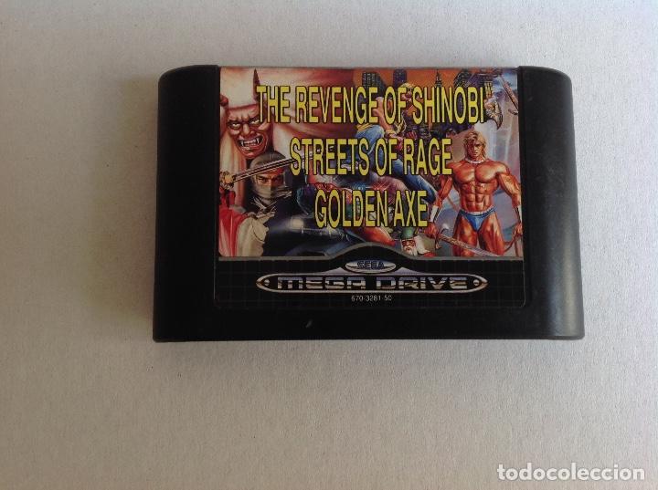 MEGA GAMES -MEGA DRIVE- (Juguetes - Videojuegos y Consolas - Sega - MegaDrive)