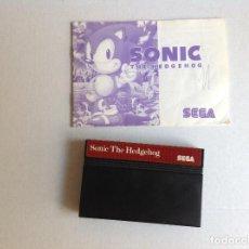 Videojuegos y Consolas: SONIC -SEGA -MASTER SYSTEM. Lote 221890525