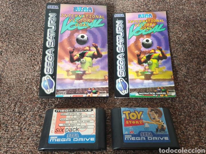 ANTIGUOS JUEGOS SEGA (Juguetes - Videojuegos y Consolas - Sega - MegaDrive)