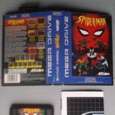 Videojuegos y Consolas: SEGA MEGA DRIVE SPIDER-MAN ANIMATED SERIES COMPLETO CAJA Y MANUAL BOXED CIB PAL R11703. Lote 221911115