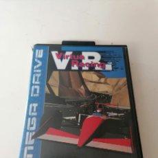 Videojuegos y Consolas: V.R. VIRTUA RACING JUEGO SEGA MEGADRIVE CON ESTUCHE Y MANUAL. Lote 221951156
