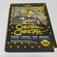 Videogiochi e Consoli: CHESTER CHEETAH TOO COOL TO FOOL SEGA GENESIS. Lote 222022188