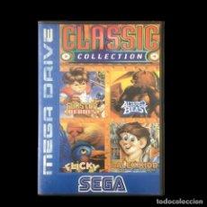 Videogiochi e Consoli: CLASSIC COLLECTION-GUNSTAR HEROES-FLICKY-ALTERED BEAST-ALEX KIDD-JUEGO-SEGA-MEGADRIVE-16BIT. Lote 222072418