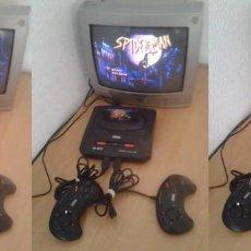Videojuegos y Consolas: SEGA MEGA DRIVE II 2 COMPLETA MK-1631-50 TODO ORIGINAL PLENO FUNCIONAMIENTO PAL R11708. Lote 222328363