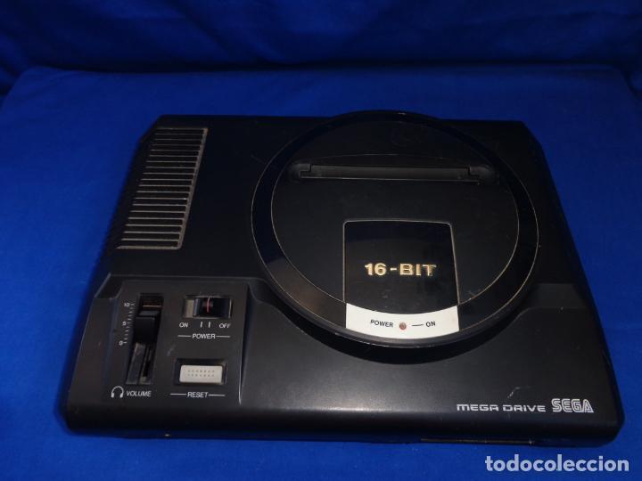 SEGA - CONSOLA SEGA MEGA DRIVE 16 BIT, VER FOTOS Y DESCRIPCION! SM (Juguetes - Videojuegos y Consolas - Sega - MegaDrive)