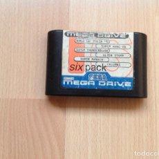 Videojuegos y Consolas: SIX PACK MEGA DRIVE SEGA. Lote 222355332