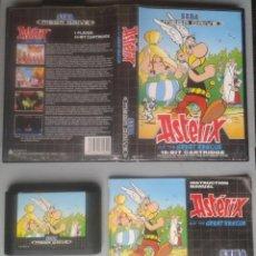 Videojuegos y Consolas: SEGA MEGA DRIVE ASTERIX THE GREAT RESCUE COMPLETO CON CAJA MANUAL BOXED CIB PAL R11722. Lote 222526167