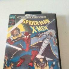 Videojuegos y Consolas: SPIDERMAN X-MEN MEGADRIVE MIRE MIS OTROS JUEGOS NINTENDO SONY SEGA MEGADRIVE DREAMCAST SATURN SNES. Lote 222529950