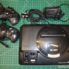 Videojuegos y Consolas: SEGA MEGADRIVE COMPLETA FUNCIONANDO CON DOS MANDOS Y CABLEADO.. Lote 222540802