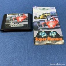 Videojuegos y Consolas: JUEGO - SEGA GENESIS - SUPER MONACO GP + INSTRUCCIONES. Lote 223606337
