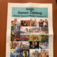Videojuegos y Consolas: ANTIGUA PROPAGANDA DE DE SEGA. Lote 224163932