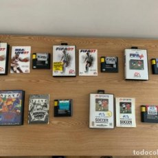 Jeux Vidéo et Consoles: LOTE DE JUEGOS COMPLETOS ORIGINALES SEGA MEGA DRIVE. Lote 225344160