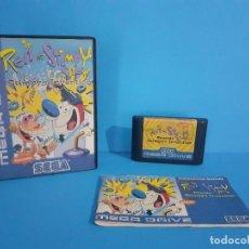 Videojuegos y Consolas: THE REN STIMPY SHOW PARA MEGADRIVE. COMPLETO.. Lote 226448475
