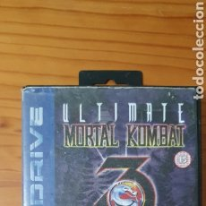 Videojuegos y Consolas: CAJA VACIA JUEGO MORTAL KOMBAT THE ULTIMATE FIGHTING GAME MEGA DRIVE. Lote 227197895