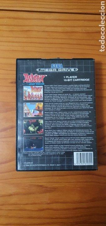 Videojuegos y Consolas: JUEGO SEGA DRIVE ASTERIX AND THE GREAT RESCUE MEGADRIVE - Foto 2 - 227213980