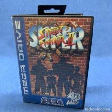 Jeux Vidéo et Consoles: VIDEOJUEGO SEGA MEGA DRIVE - STREET FIGHTER II + CAJA + INSTRUCCIONES. Lote 227954810