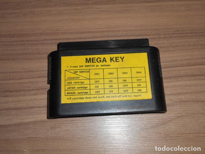 MEGADRIVE ADAPTADOR PARA CARTUCHOS DE IMPORTACION SEGA MEGADRIVE MEGA DRIVE (Juguetes - Videojuegos y Consolas - Sega - MegaDrive)