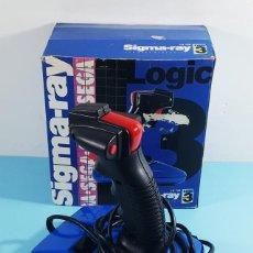 Videojuegos y Consolas: JOYSTICK SIGMA RAY PARA SEGA MEGADRIVE, LOGIC 3 LG 738 CON SU CAJA,NO COMPROBADO.. Lote 230352810