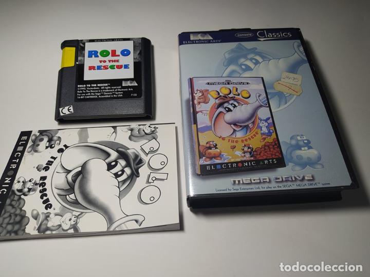 ROLO TO THE RESCUE ( SEGA MEGA DRIVE - PAL -ESP) (Juguetes - Videojuegos y Consolas - Sega - MegaDrive)